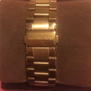 Michael Kors Accessories - Michael Kors rose gold watch.
